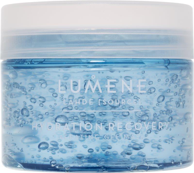 Lumene Lähde [Source of Hydratation] hydratační obnovující okysličující gelová maska